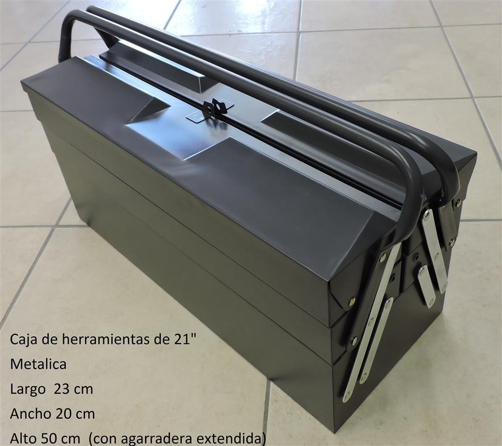 Herramientas cajas de herramientas caja de - Caja de herramientas metalica ...