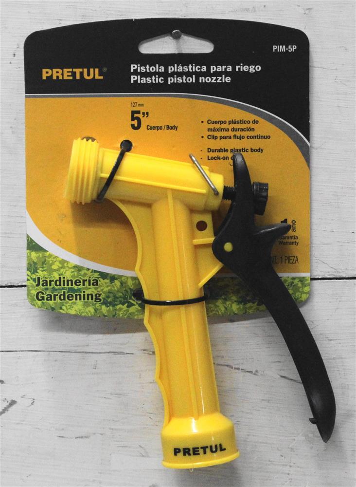 Accesorios de jardin conectores para riego pistola for Accesorios de jardin