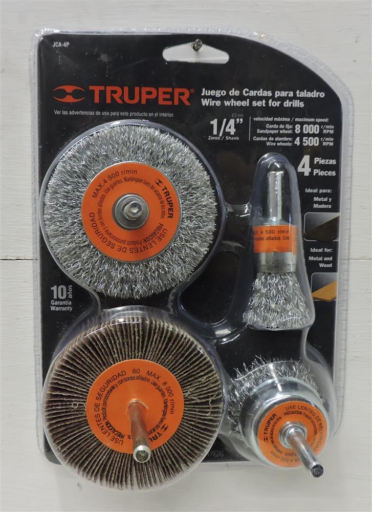 Abrasivos y discos para corte carda circular juego de - Lija para taladro ...